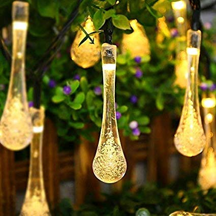 Amazon.com : ACEHOME Solar Outdoor String Lights, 20ft 30 LED Warm