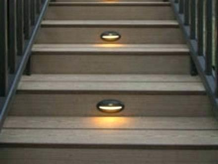 Solar Lights For Deck Stairs Solar Stair Lighting Post Mount Solar