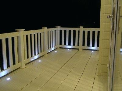 Solar Recessed Stair Lighting Deck