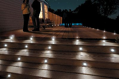 Solar | Low Voltage Recessed Deck Lighting Kits - Popular Brands