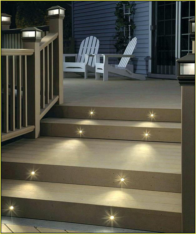 Deck Stair Lights Deck Stair Lights Solar Step Light Outdoor Led Low