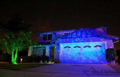 Outdoor Laser Light Projector Photo Gallery | Lasers and Lights Blog