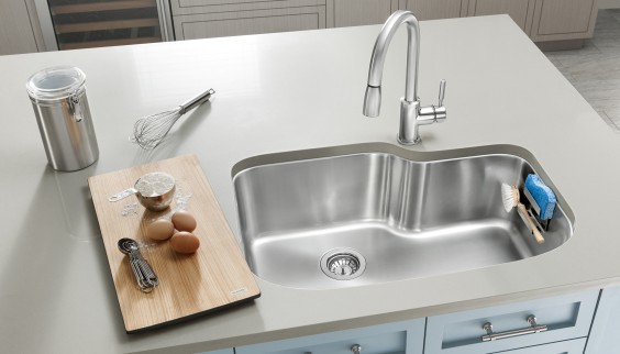 Stainless steel sinks fit in any kitchen