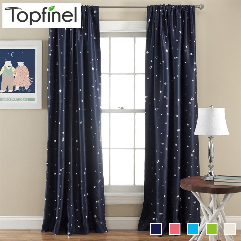 2019 Top Finel Better Modern Star Curtains For Children Kid Baby Room 100%  Polyester Soft Hypoallergeni Room Darking 85% Blackout From Lifegreen,