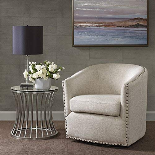 Tyler Swivel Chair Natural Multi See Below