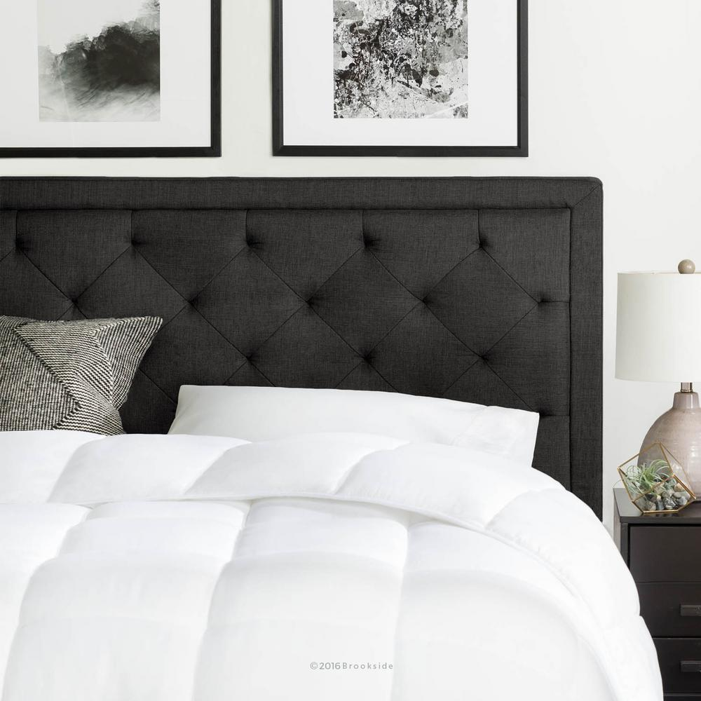 This review is from:Upholstered Charcoal Queen with Diamond Tufting  Headboard