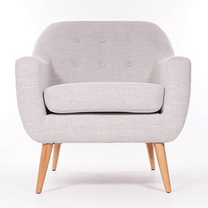 Ralph Armchair Light Grey - furniture