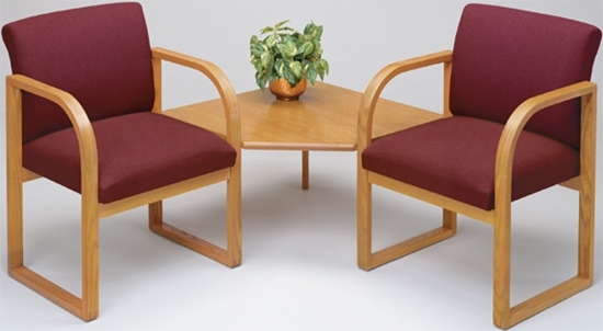 Picture of Lesro R2421G3 Waiting Room Chairs