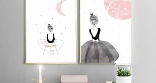Girls Canvas Art Print Painting Poster, Wall Pictures for Home Decoration  Wall Art Decor