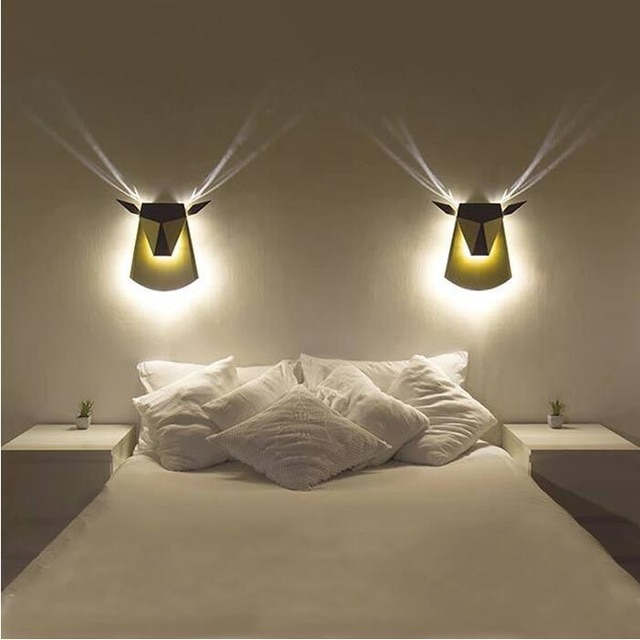 New Wall Lights Creative Led Wall Lamp Bedroom Bedside Decoration