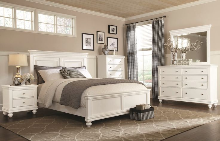 White bedroom furniture with exquisite design ideas for exquisite bedroom  inspiration. 1