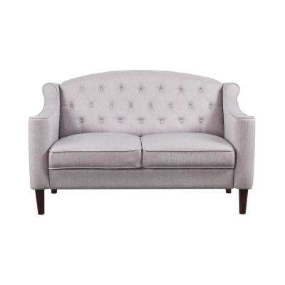 Round - White - Sofas & Loveseats - Living Room Furniture - The Home