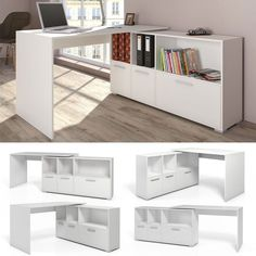 27+ DIY Computer Desk Ideas You Can Build Now in 2019. Office Storage  FurnitureSpace Saving FurnitureWhite