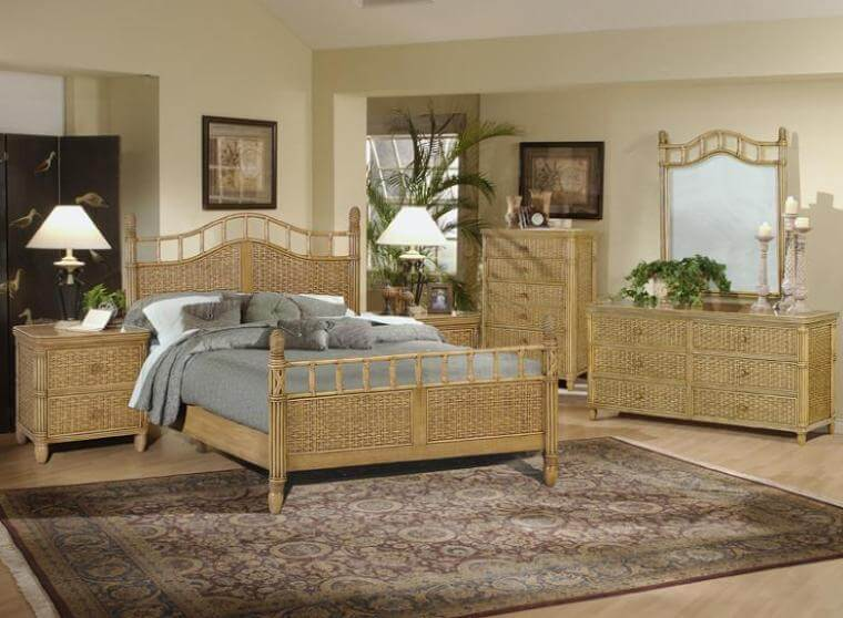Wicker Bedroom Furniture Designs Ideas u2013 America Underwater Decor