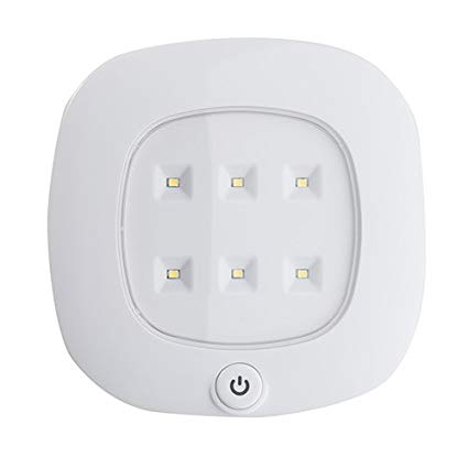 Light It! By Fulcrum LED Wireless Ceiling Light, Remote Control