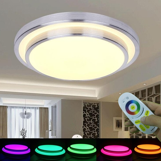 KINLAMS LED Ceiling Light 2.4G Wireless Remote Touch Control AC165