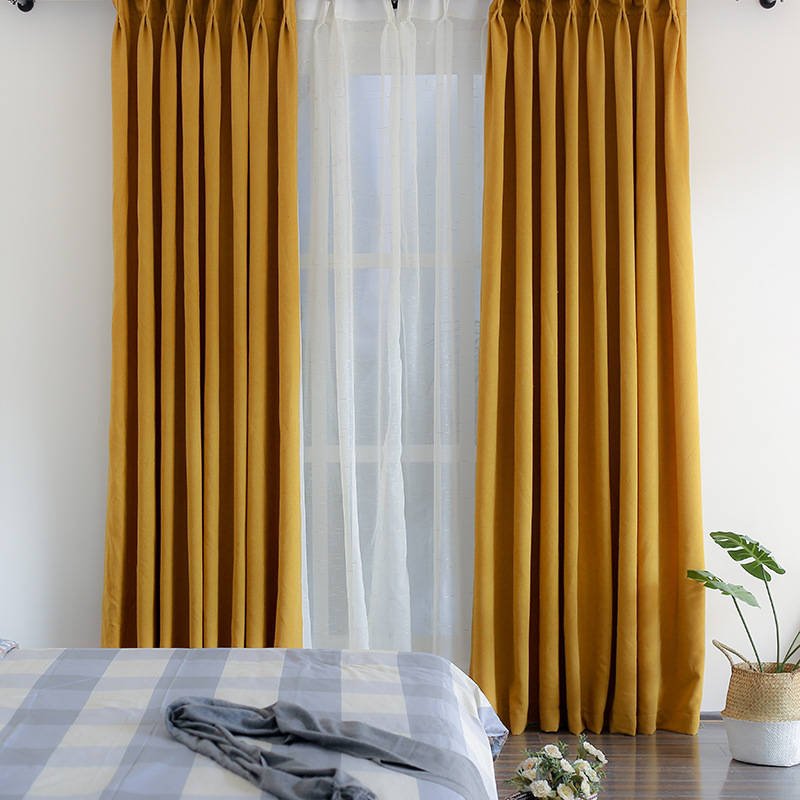 Solid-Mustard-Yellow-Curtains-Simple-Minimalist-Thermal-Blackout-Bedroom- Drapes-CMT1805211024117-1.jpg