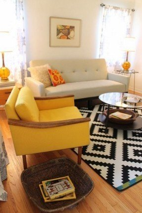 Yellow Living Room Chairs Foter pale yellow living room chairs