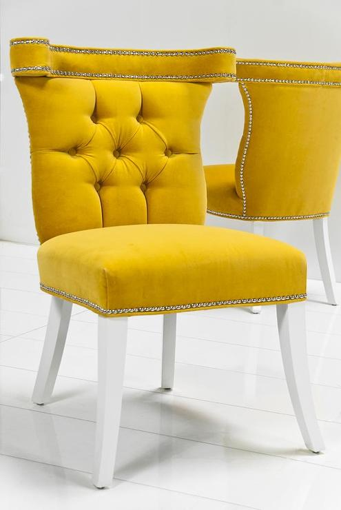 Dining Room Yellow Upholstered Chair Meedee Designs Pertaining To  Inspirations 7 Round Stone Table Pendant Lights